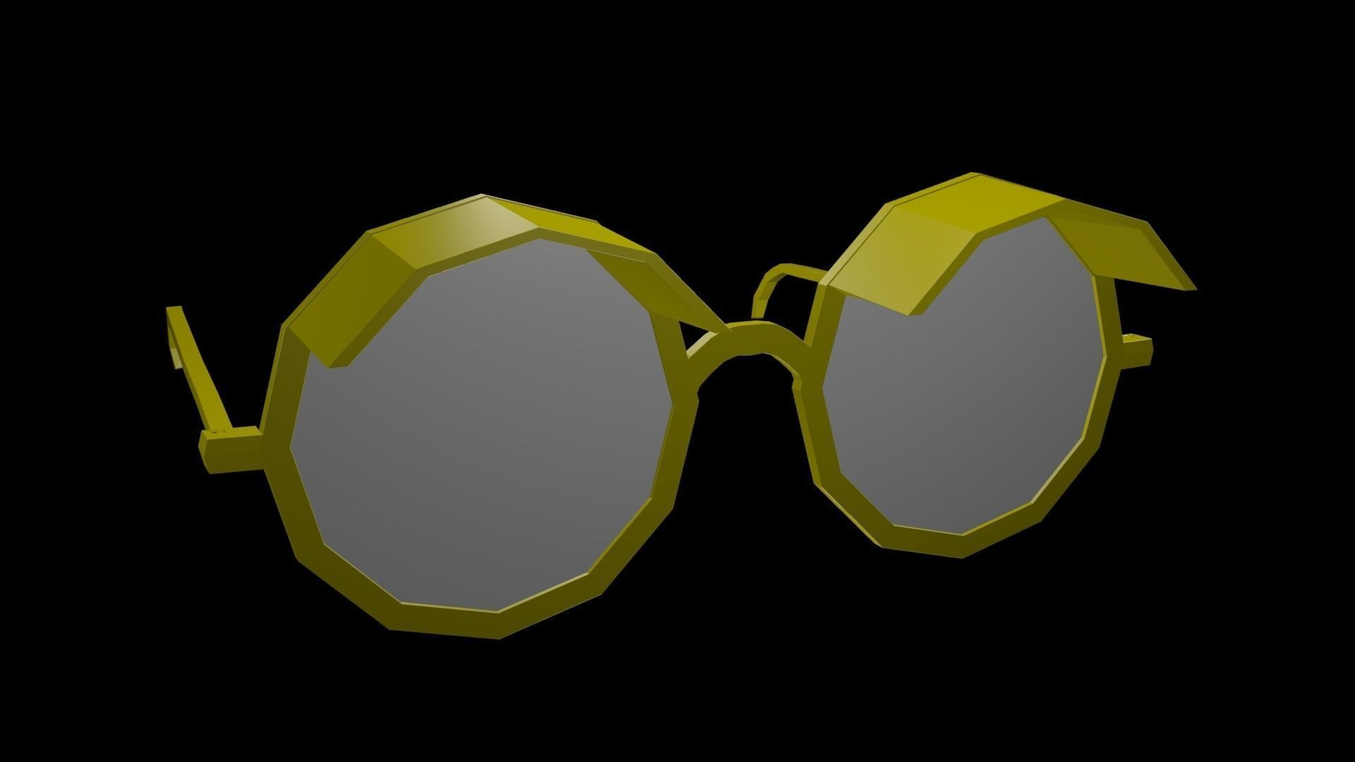 Low poly spectacles 1