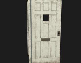 3D asset Door old 3 pbr