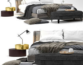 3D Spencer bed - by Minotti