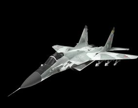 MIG 29A Fulcrum Lowpoly 3D model