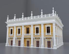 3D model OLD HISTORICAL EUROPEAN BUILDING