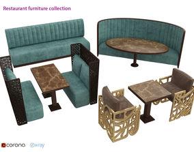 3D model Restaurant Furniture collection