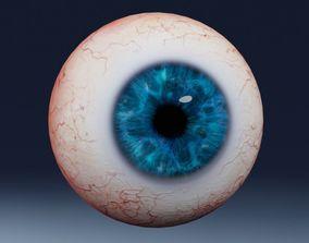 3D model VR / AR ready Human eye Photorealistic
