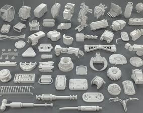3D Kit bash - 58 pieces - collection-24
