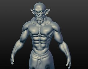 3D model Orc Posed