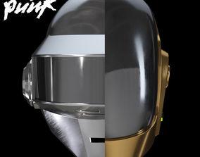 3D Daft Punk Helmets