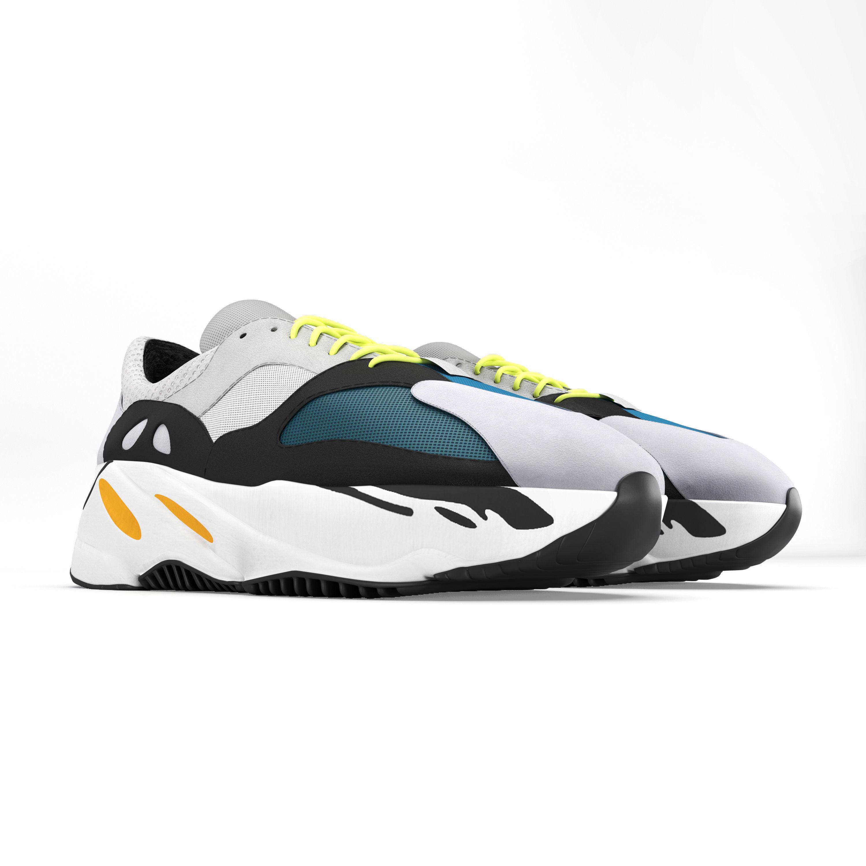 77f9fb0dc156a6 ... adidas yeezy wave 700 3d model max obj mtl fbx mat 3 ...