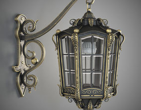 Forged lamp 3D