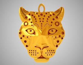 Leopard Necklace 3D print model