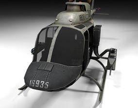 oh58 Lowpoly 3D model