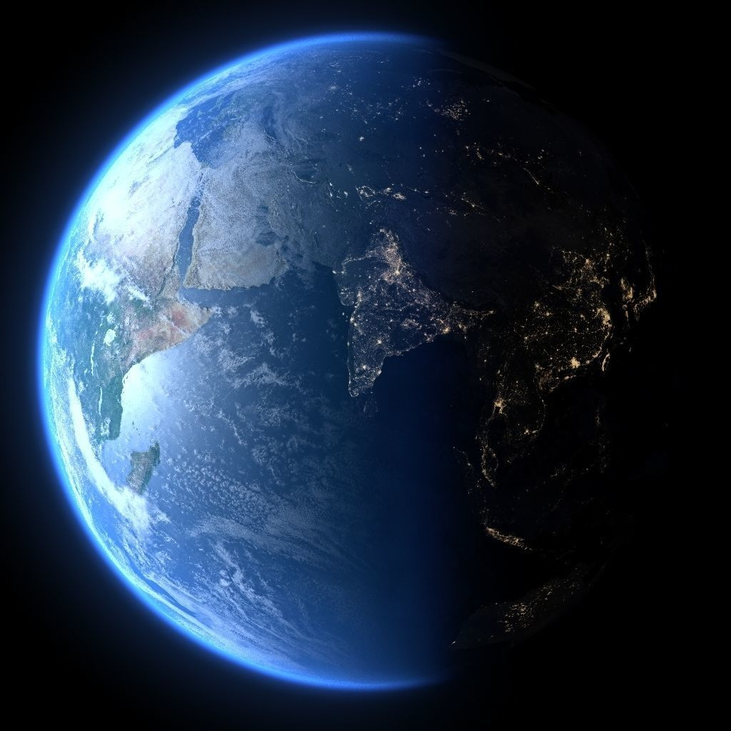 Earth in January