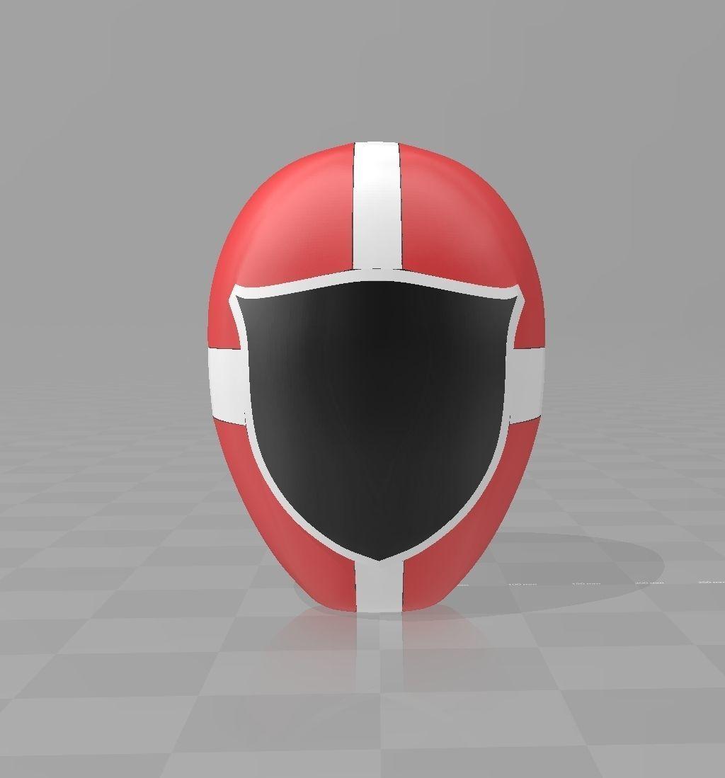 Power Rangers KyuuKyuu Sentai GoGoFive GoRed Helmet