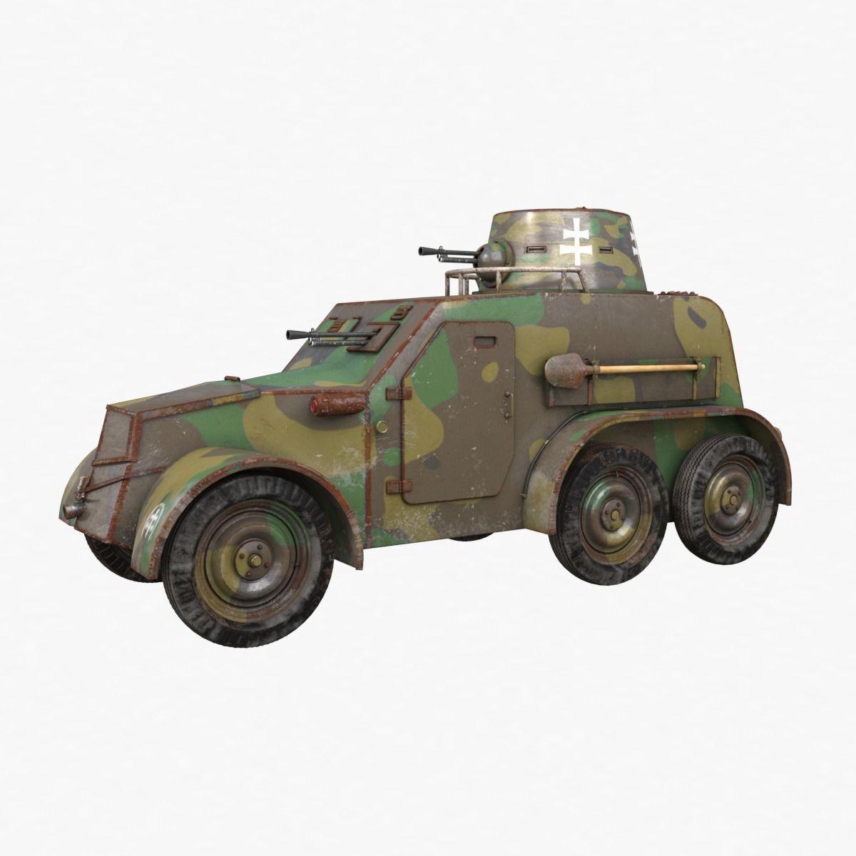 OA vz 30 Armoured Car Slowak Vray
