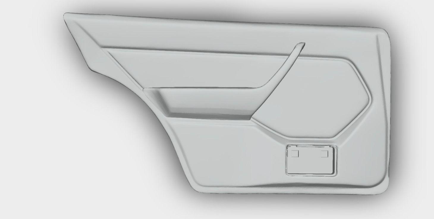 Mercedes W124 Door Panel