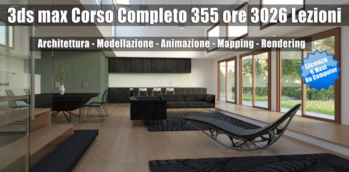 3ds max Learning Station 6 Mesi Subscription un Computer