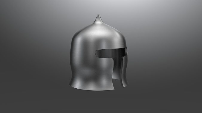 early medieval saracen helmet 3d model max obj mtl 3ds fbx stl dae 1