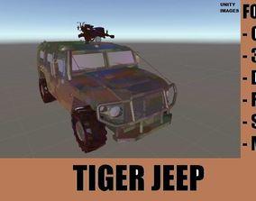 TIGER MILITARY JEEP 3D model