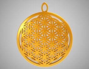 Life Flower Necklace 3D print model