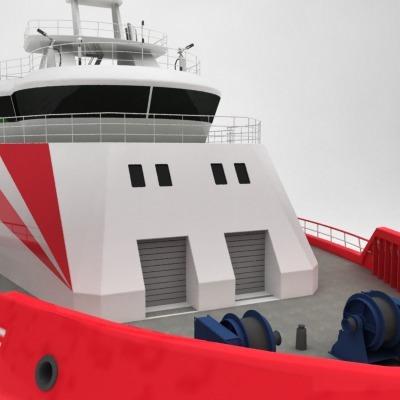 anchor handling tug supply ship 01 3d model max obj 3ds fbx 13