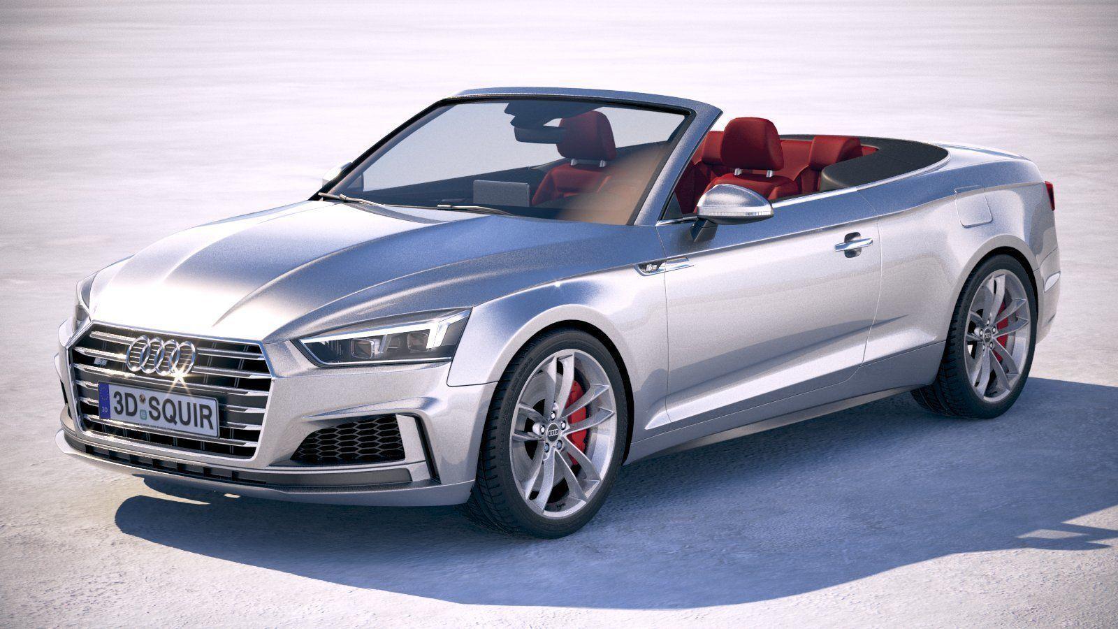 Audi S5 Cabriolet 2019 3d Cgtrader