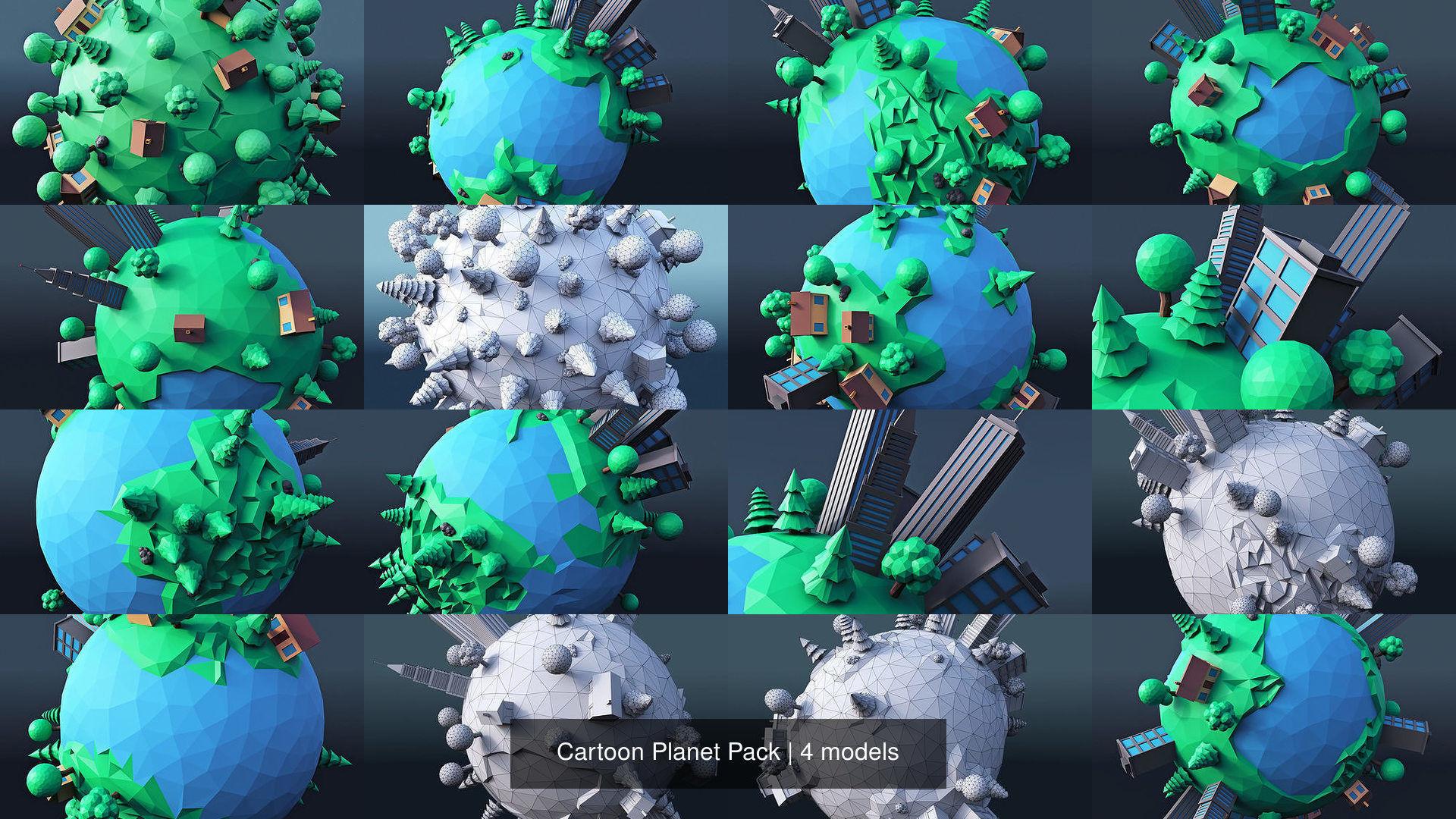 Cartoon Planet Pack