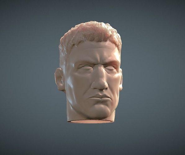 Punisher inspirited Figure Head