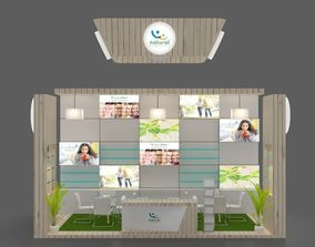 3D model Exhibition stand 4