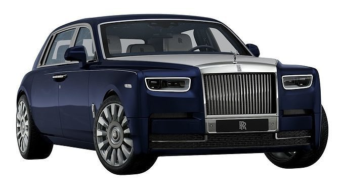 2018 rolls-royce phantom a moment in time 3d model max obj mtl 3ds fbx c4d ma mb 1