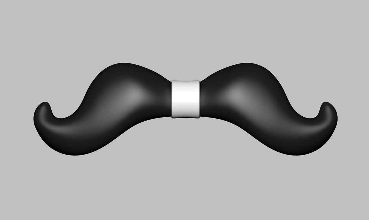 picture relating to Bow Tie Printable identify Bow Tie 05 3D Print Design and style
