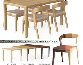 PLAY CHAIR and TABLE 3D asset