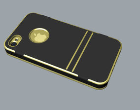 3D printable model iphone4 and 4S black lighting case
