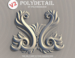 PolyDetail - Ornament Plugin for 3dsMax