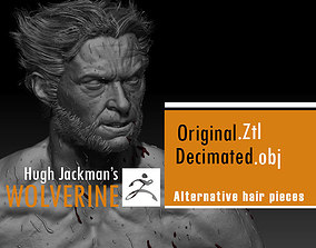 Hugh Jackman wolverine 3d model