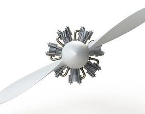 airplane Propeller 3D