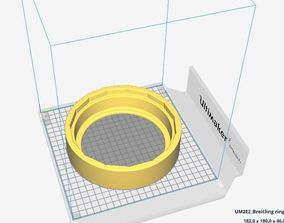 Breitling back case opener for 15 3D printable model 4