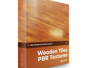 3D CGAxis Wooden Tiles PBR Textures Collection Volume 4