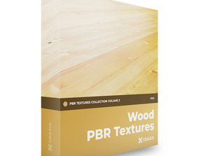 CGAxis Wood PBR Textures Collection Volume 2 3D