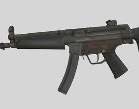 3D model MP-5 Submachine gun