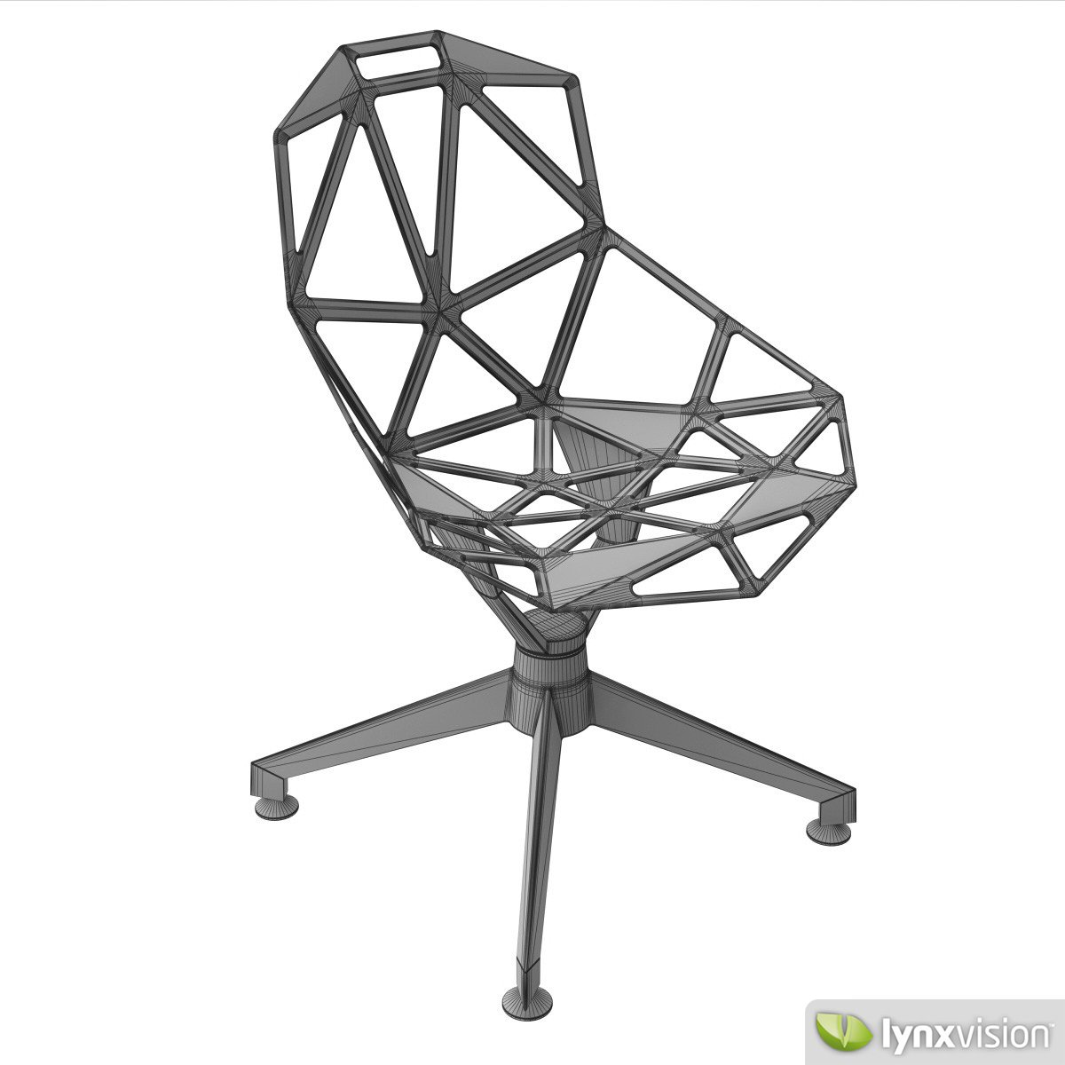 Chair One Magis 3D Model MAX OBJ FBX MTL