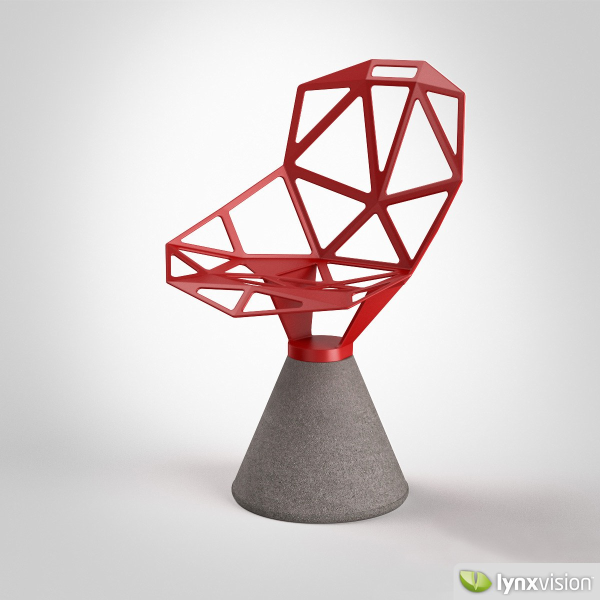 Chair One Magis 3D Model MAX OBJ FBX