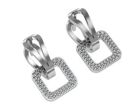 Square classic earrings 3D printable model