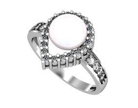 Ring Pearl set 3D printable model