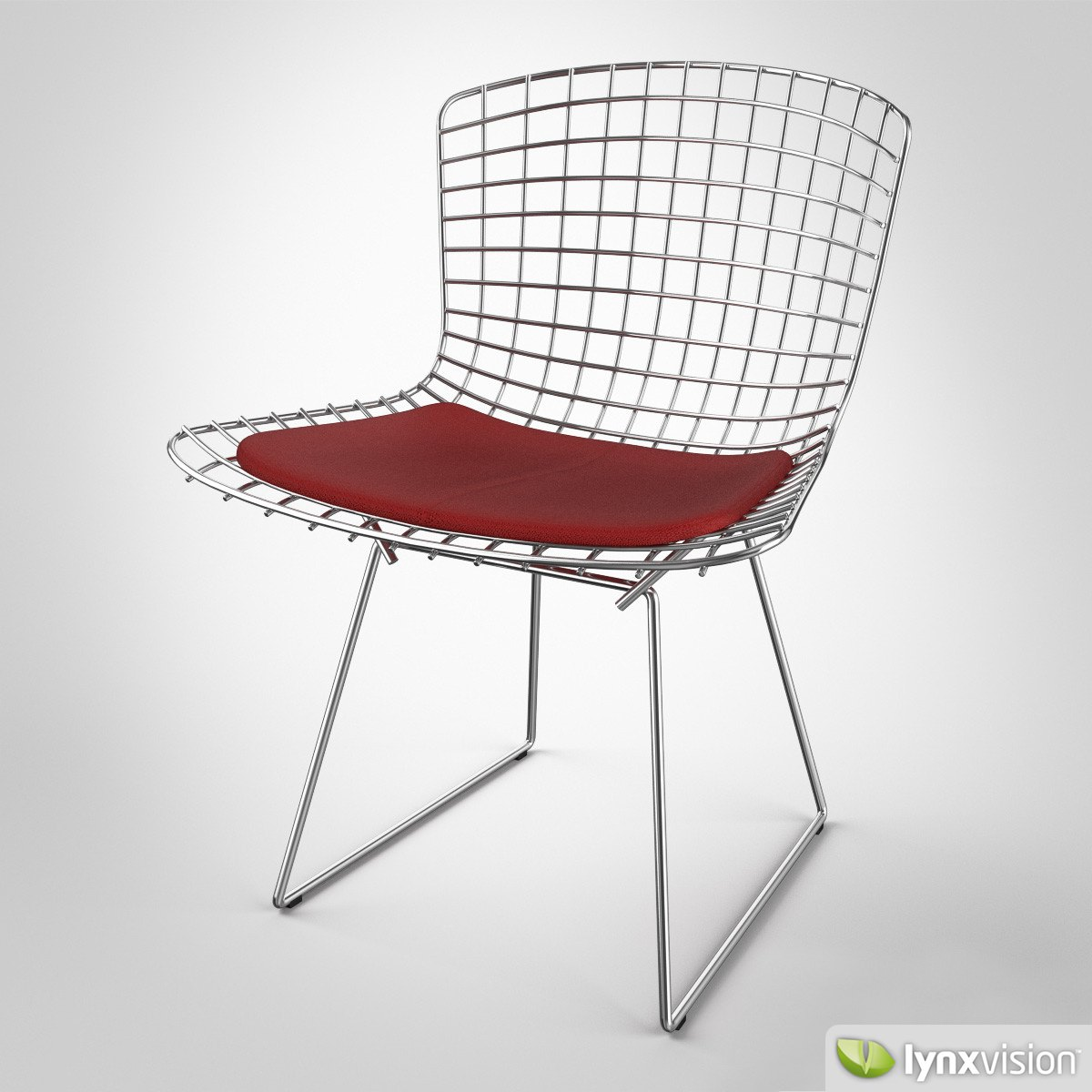 ... Bertoia Chair By Knoll 3d Model Max Obj Fbx Mtl 2 ...