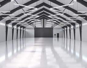 3D model exterior Hangar