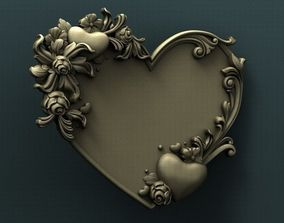 3d STL Model for CNC Router - Heart