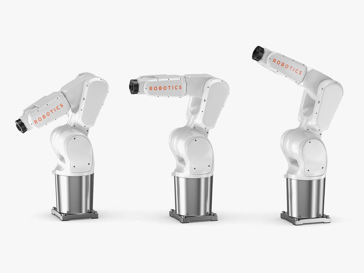Generic Robotic Arm Industrial | 3D model