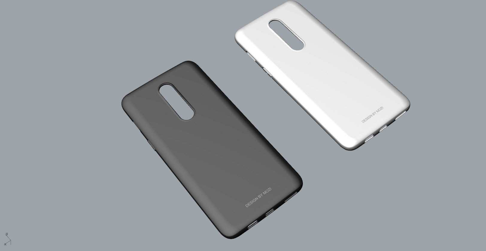 oneplus 6 black and white case