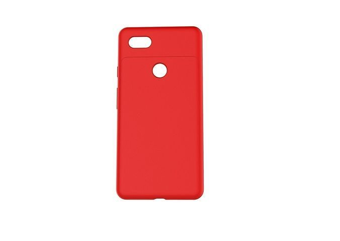 google pixel 3xl red case customizable design 3d model obj mtl 3ds fbx stl 3dm skp 1