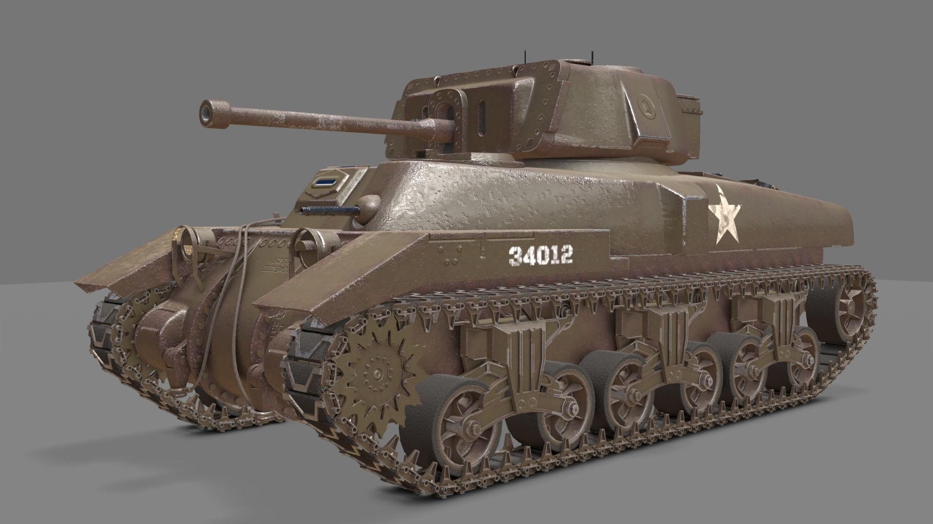 Ram II Tank