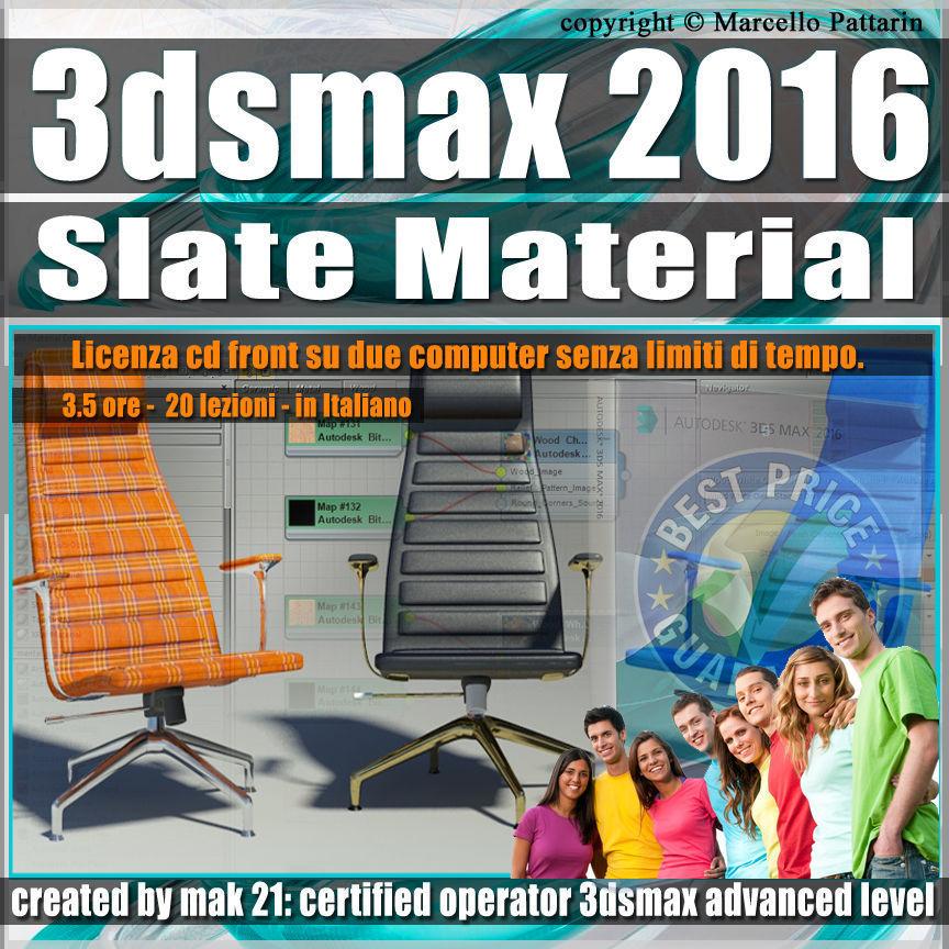 011 3ds max 2016 Slate Material v 11 cd front